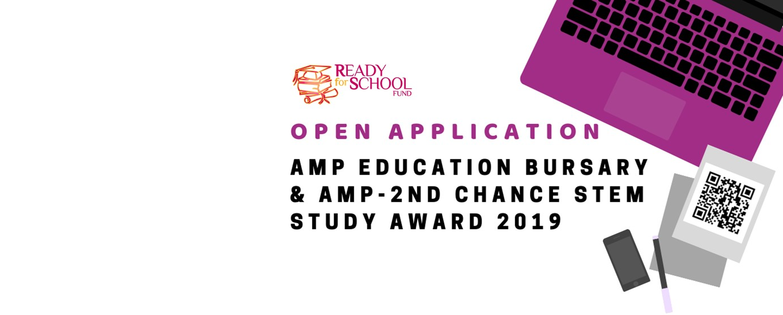 AMP Education Bursary & AMP-2nd chance stem study award 2019